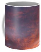 Red Clouds At Sunset Coffee Mug