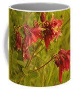 Red Columbine Coffee Mug