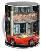 Red Corvette Coffee Mug by Bob Orsillo