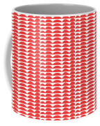 Red Cut Outs- Abstract Pattern Art Coffee Mug