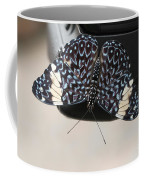 Red Cracker Butterfly Coffee Mug