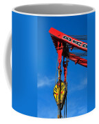 Red Crane - Photography By William Patrick And Sharon Cummings Coffee Mug