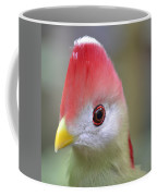 Red Crested Turaco Coffee Mug