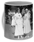 Red Cross Parade, 1918 Coffee Mug
