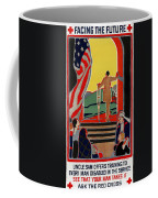 Red Cross Poster, 1919 Coffee Mug by Granger