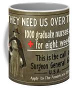 Red Cross Poster, C1914 Coffee Mug
