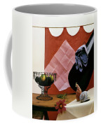Red Curtains Coffee Mug