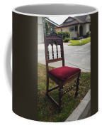 Red Cushion Chair Coffee Mug