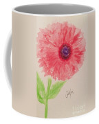 Red Dahlia  Coffee Mug