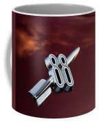Red Delta 88 Rocket Coffee Mug