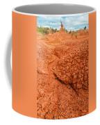 Red Desert Column Coffee Mug