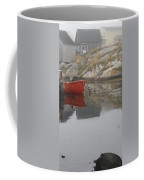 Red Dinghy  Coffee Mug