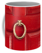 Red Door 01 Coffee Mug