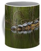 Red-eared Slider Turtles Coffee Mug