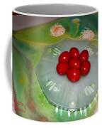 Red Eggs And Daisies Coffee Mug
