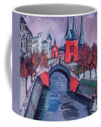 Red Elisabeth Riverbank Berlin Coffee Mug