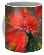 Red Explosion Coffee Mug