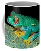 Red Eye Tree Frog Coffee Mug