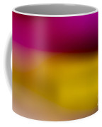 Red Fade To Gold Coffee Mug