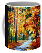 Red Fall Coffee Mug