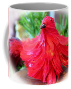 Red Feathers Coffee Mug