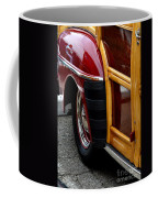 Red Fendered Woodie Coffee Mug