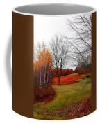 Red Field Autumn Coffee Mug