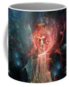 Red Fire Angels With Tower #1 Coffee Mug