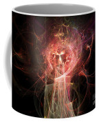 Red Fire Angels With Tower #2 Coffee Mug