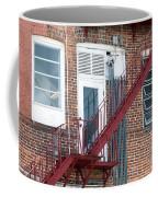 Red Fire Escape Usa I Coffee Mug