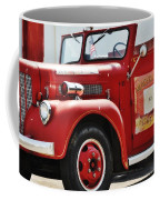 Red Fire Truck Coffee Mug