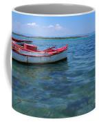 Red Fishing Boat Coffee Mug