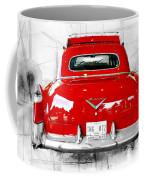 Red Fleetwood Coffee Mug