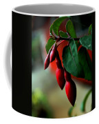 Red Flower Buds Coffee Mug