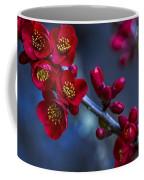 Red Flowering Quince Coffee Mug