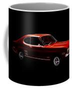 Red Ford Capri Coffee Mug