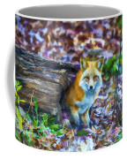 Red Fox At Home Coffee Mug