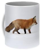 Red Fox In Deep Snow Coffee Mug
