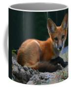 Red Fox Coffee Mug by Kristin Elmquist