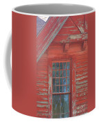 Red Gable Window Coffee Mug