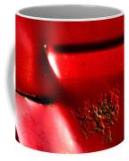 Red Gash Coffee Mug