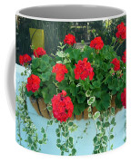Red Geranium 1 Coffee Mug