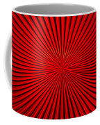 Red Glass Abstract 1 Coffee Mug