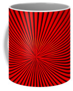 Red Glass Abstract 3 Coffee Mug
