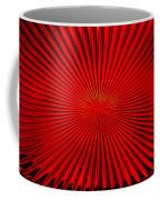 Red Glass Abstract 4 Coffee Mug