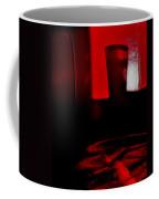 Red Glass Coffee Mug
