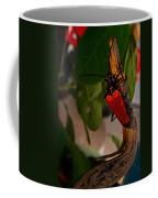 Red Glowing Beetle Coffee Mug