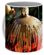 Red Gold Glitter Coffee Mug