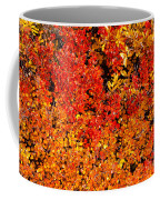 Red-golden Alpine Shrubs Coffee Mug