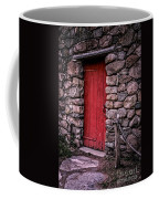 Red Grist Mill Door Coffee Mug